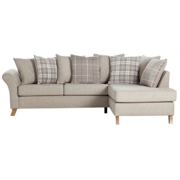 Collection Kayla Fabric Right Hand Corner Sofa Beige At Argos Co Uk Visit To Online For Sofas Armchairs And Chairs