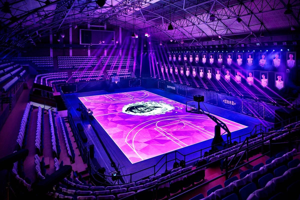Basketball Courts The 10 Craziest Basketball Court Pinterest