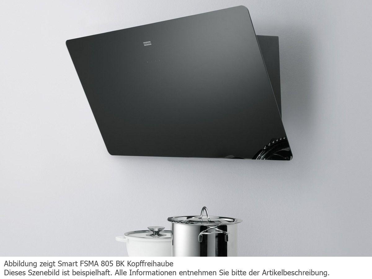 franke smart fsma 905 bk kopffrei wand dunstabzugshaube schwarz - Dunstabzugshauben Fur Kuchen