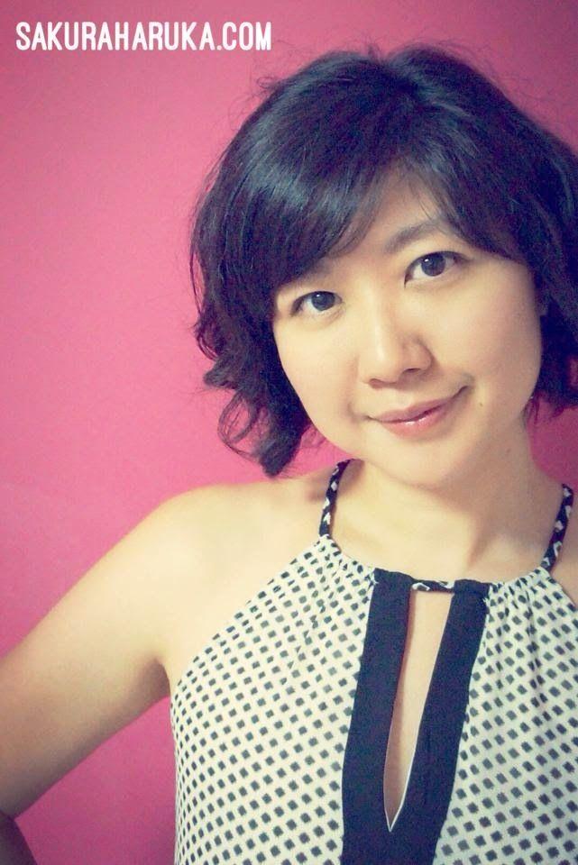 New Curls Swirls Short Bob Hairstyle Asian Girls Short Hair