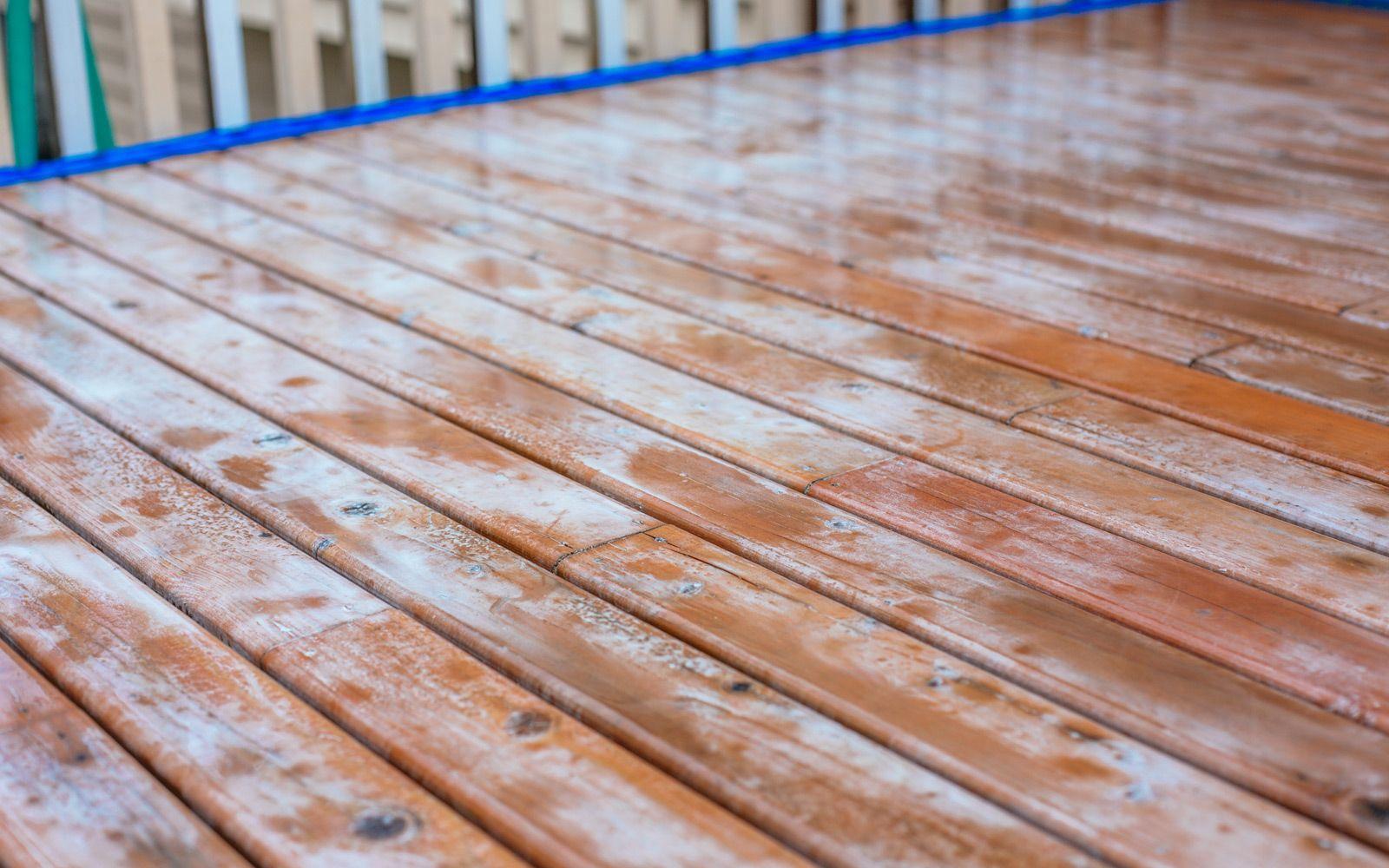 How To Refinish A Deck Diy Tips Deck Refinishing Deck Diy