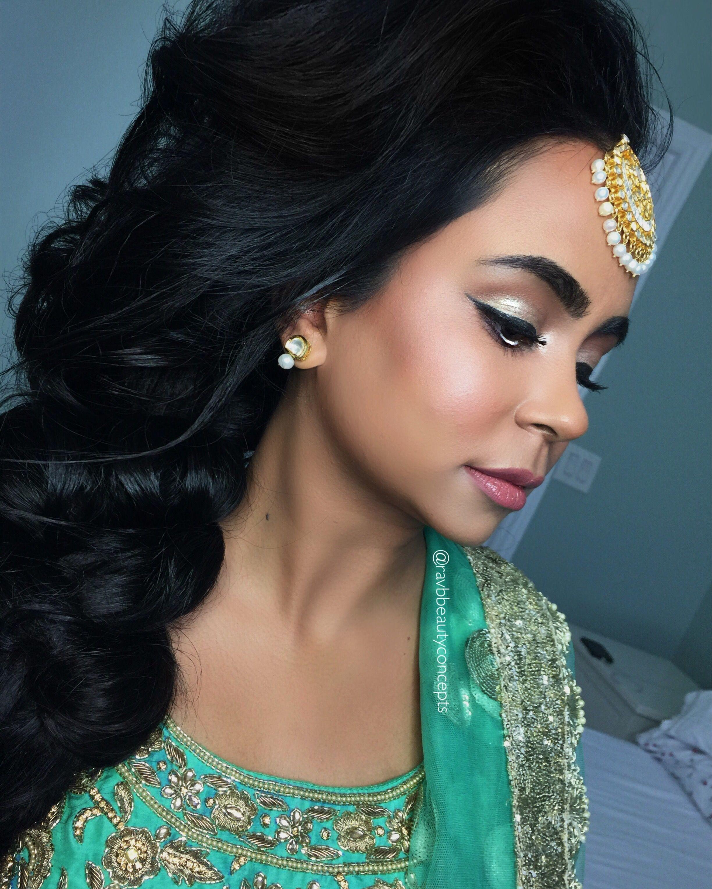 indian bridal makeup, indian bridal hair, bridal makeup, bridal