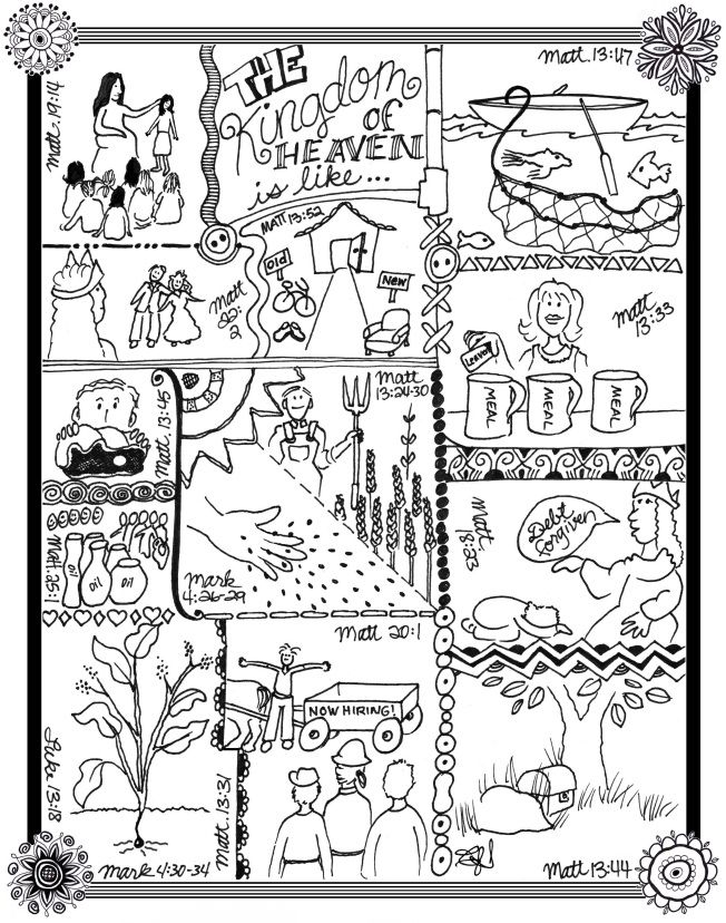 The Gospel Parables The Parable Of The Wheat And Tares Parables Toddler Bible Christian Coloring