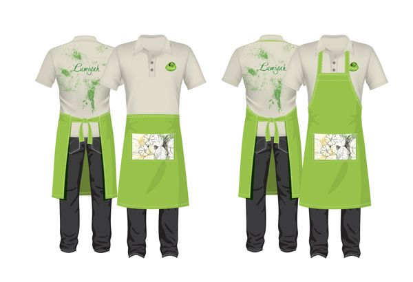 Pin By Yohannes Bantyehun On Coffee Shop Restaurant Uniforms Cafe Branding Uniform Design