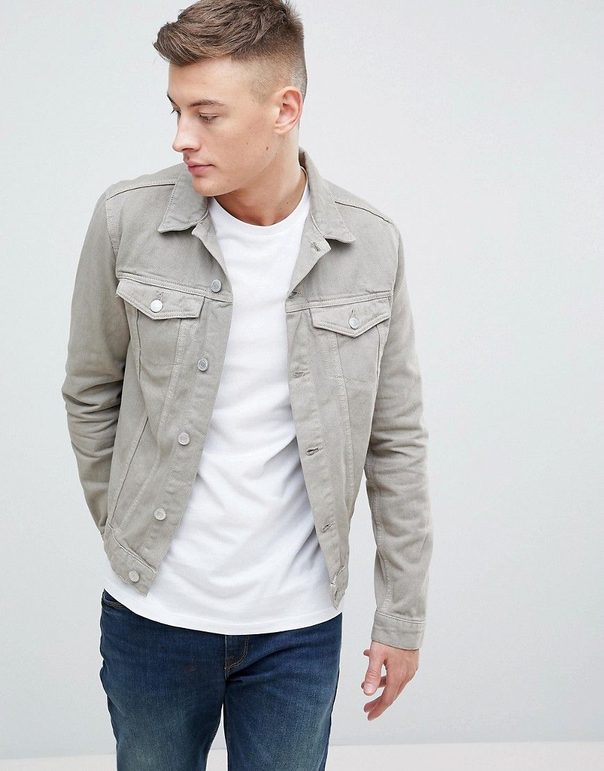 5b6c2a3012a0 NEW LOOK DENIM JACKET IN STONE - STONE.  newlook  cloth