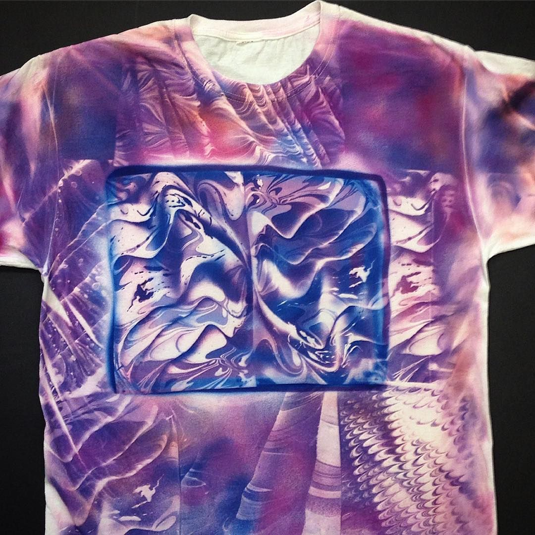 Jacquard Products On Instagram Check Out This Rad Multi Color Multi Process Solarfast Tshirt By Divertedminds He Made It U Sun Prints Multi Color Prints