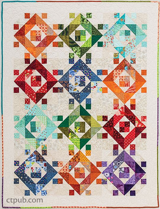 Quilts For Scrap Lovers Scrappy Quilts Pinterest Quilts