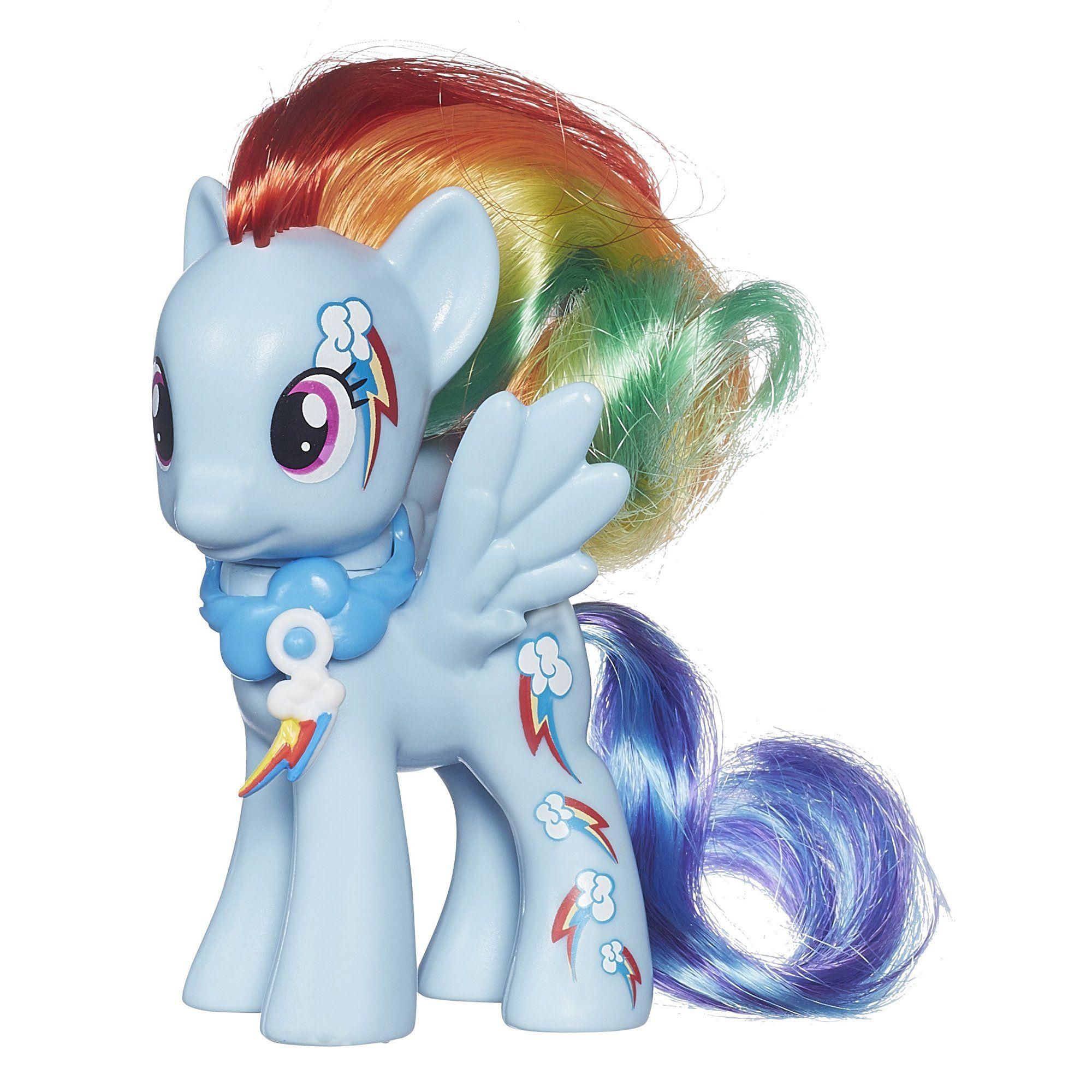 My Little Pony Cutie Mark Magic Rainbow Dash Figure Visit The