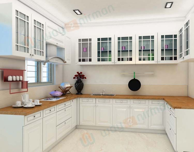 Simple # Kitchen # Interior # Design For 1Bhk House Amusing Kitchen Interiors Design Decorating Inspiration