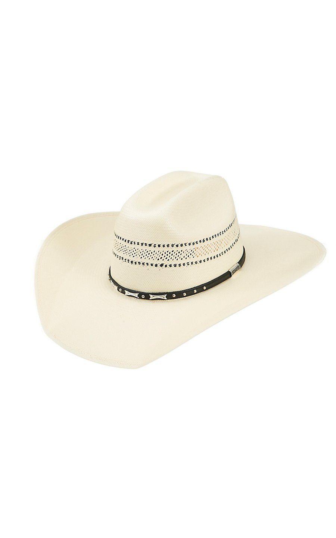 fb2b71478ae63 Stetson® 10X Wheeler Vent Straw Cowboy Hat