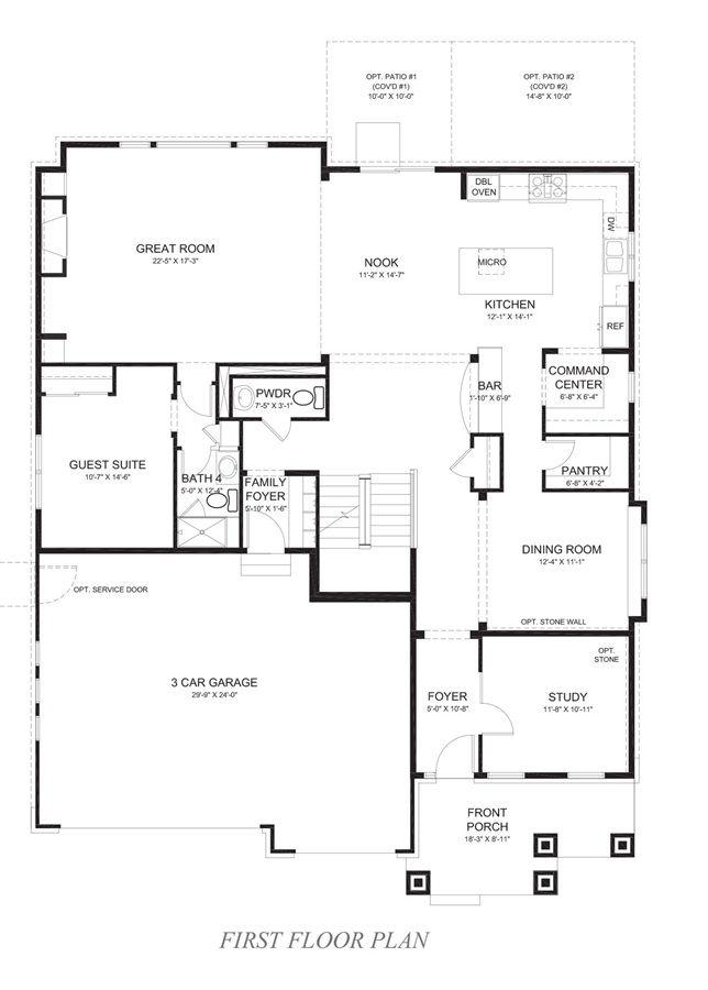 Geneva Copperleaf Centennial Colorado DR Horton – Copperleaf Homes Floor Plans