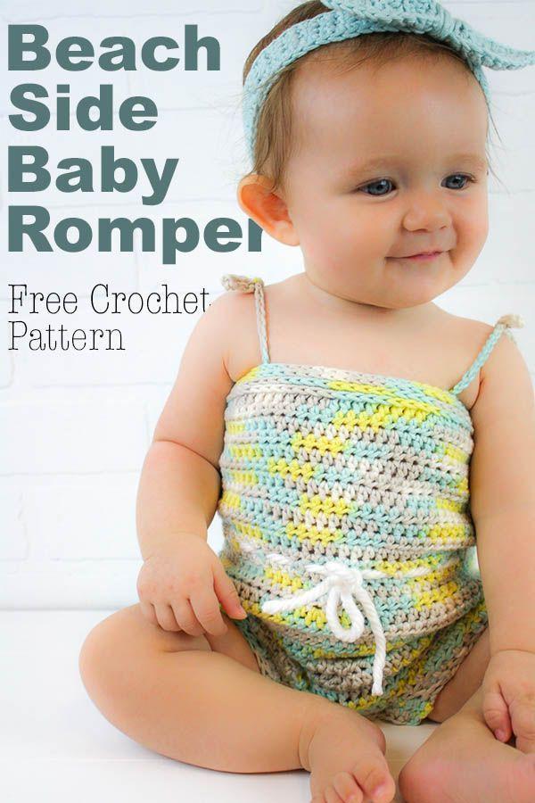 Beachside Baby Romper Free Crochet Pattern | Cre8tion Crochet ...