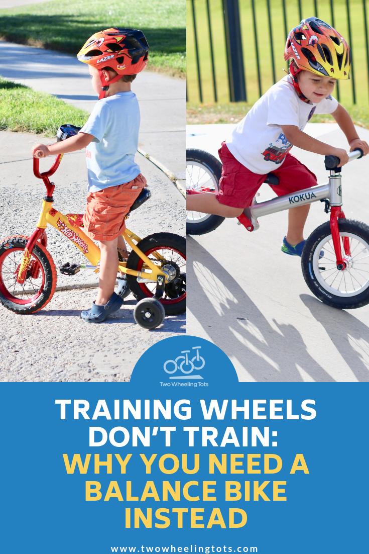 Balance Bike Vs Training Wheels Balance Bike Bike Bike Ride
