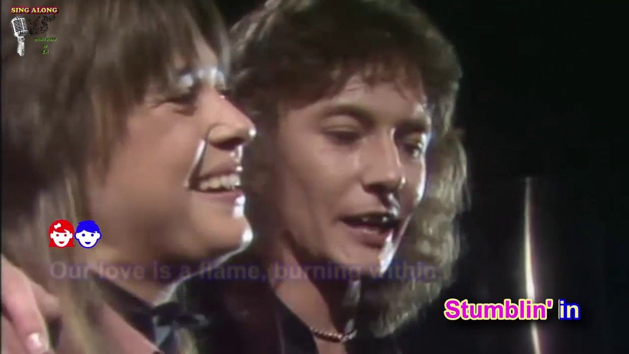 Chris Norman Suzi Quatro Stumblin In Lyric Music Video Sing Along