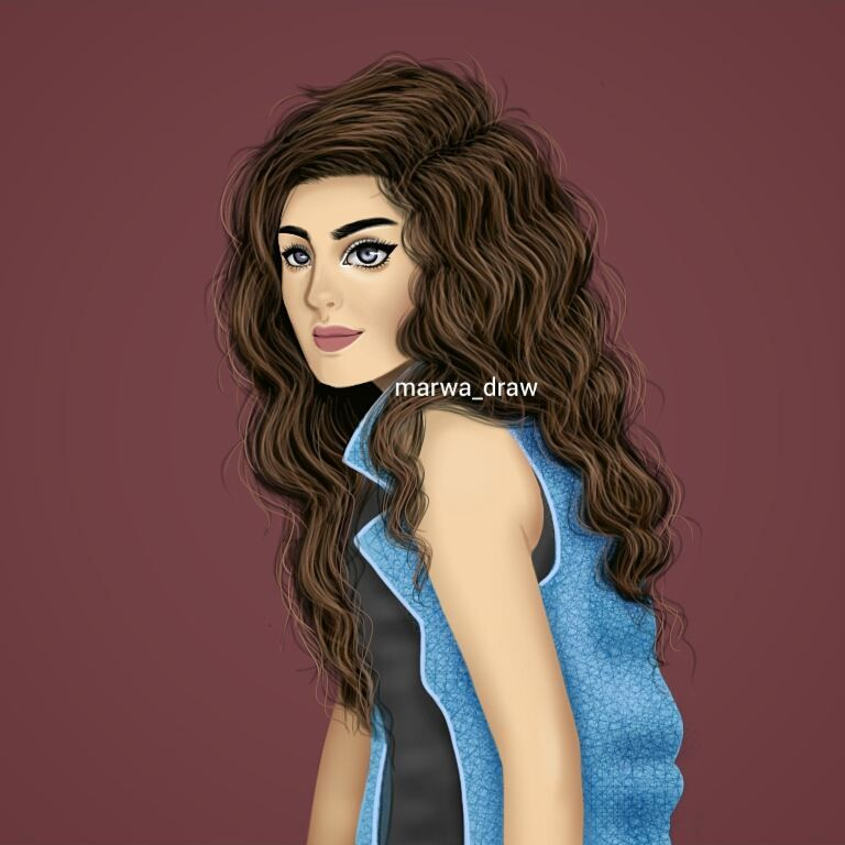 صور رسم بنات كرتون رمزيات رسومات انمي للانستقرام Digital Art Girl Girl Drawing Girly Art
