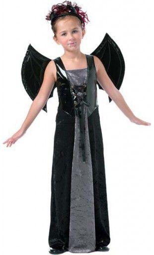 Disfraz de Vampiresa Niña