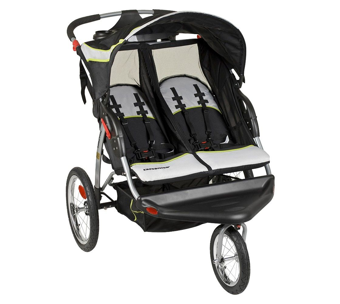 Baby Trend Expedition Double Jogger Green Tea Baby