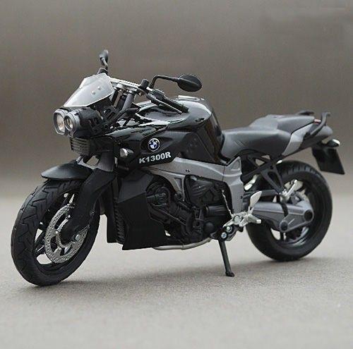 Bmw K1300r Motorcycle Model 1 12 Scale Black Evtoys Com Motorcycle Model Motorcycle Bike Toy