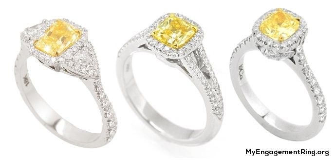 yellow diamond rings for engagement - My Engagement Ring