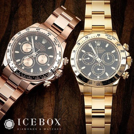 Two Gorgeous Full 18K rosegold \u0026 yellow gold Rolex