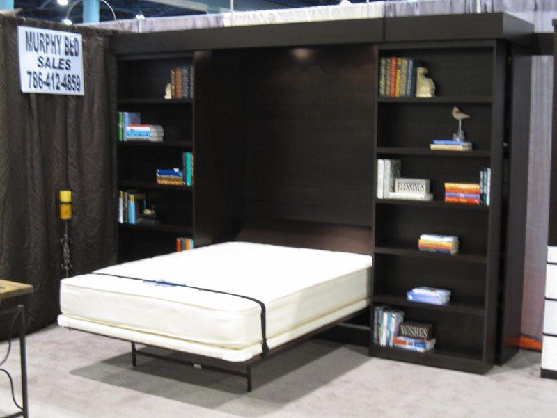 Library Murphy Bed System Murphy Bed Systems Murphy Bed Apartment Bedding