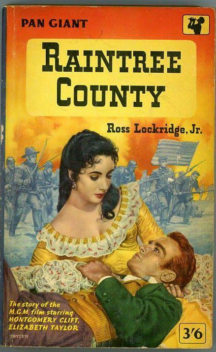 Raintree Country by Ross Lockridge Jn  Vintage Pan paperback cover