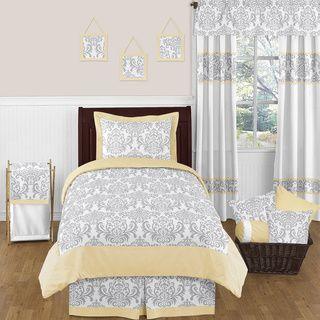 Sweet Jojo Designs Unisex 4-piece Avery Comforter Set | Overstock.com Shopping - Great Deals on Sweet Jojo Designs Kids' Bedding