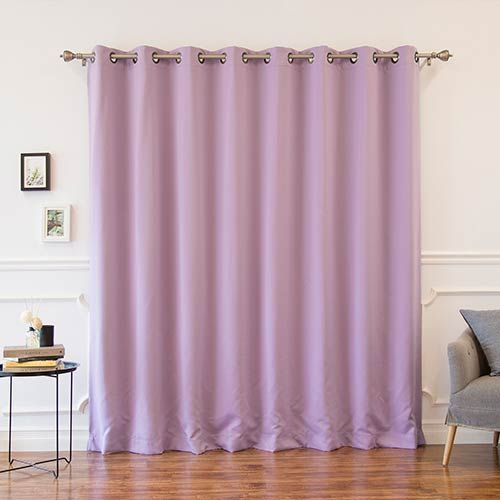 Lavender 100 X 96 In Wide With Thermal Blackout Curtain Panel