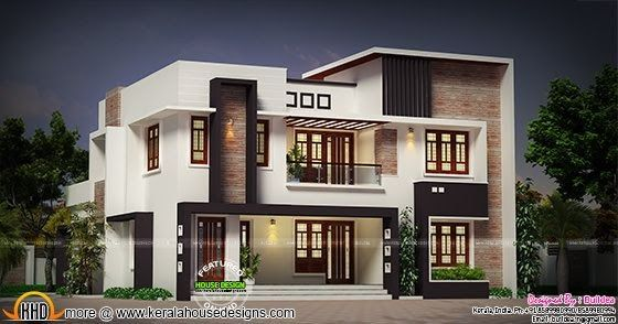 4 Bedroom Modern 2730 Sq Ft Dream House In 2019 House
