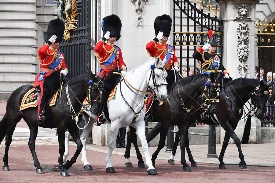 All the best photos from Trooping the Colour 2019 | Pretty