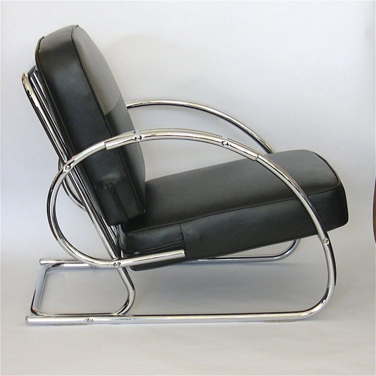 Their Low Profile And Sleek Curving Arms Make Them The Epitome Of Streamline  Modern Design.