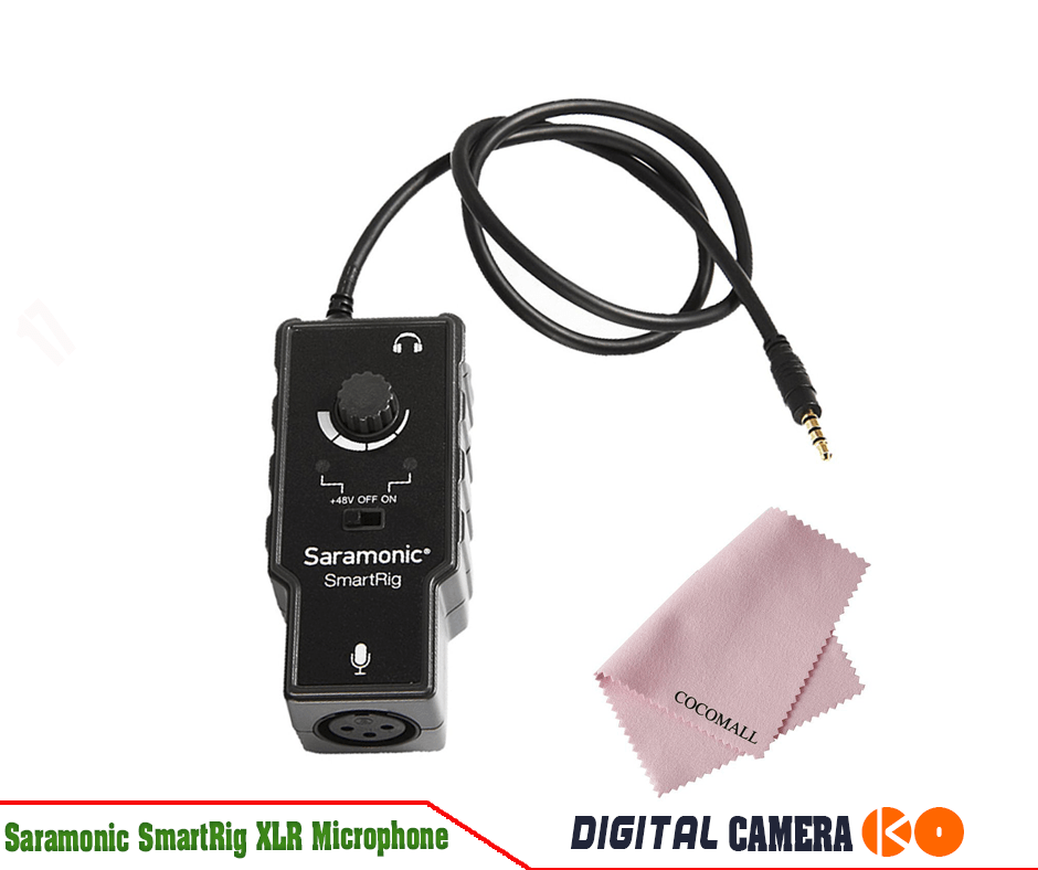how to clean iphone microphone saramonic smartrig xlr microphone preamplifier audio 17110