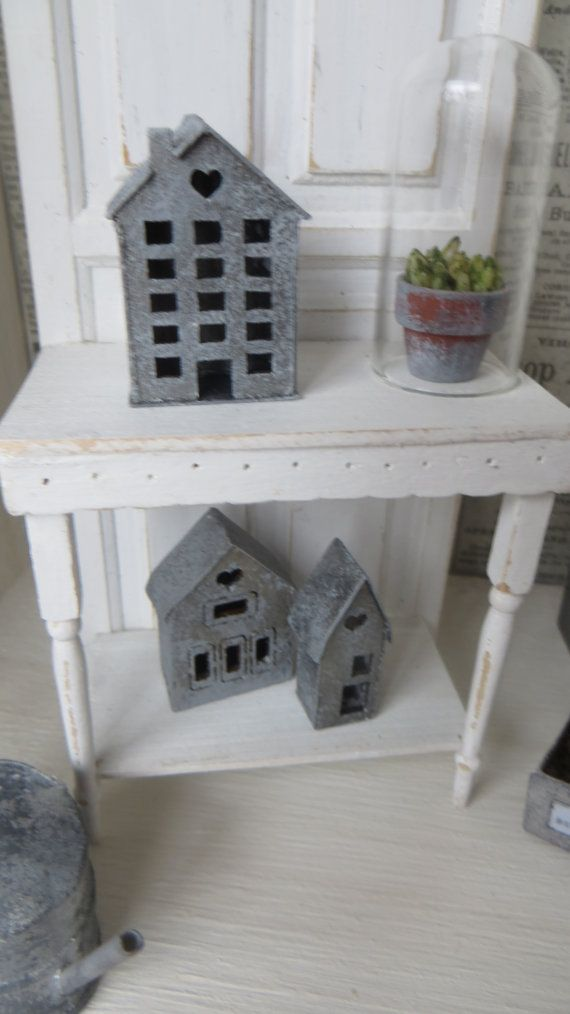 A zinc house for the dollhouse in scale 1:12 by Miniatyrmama