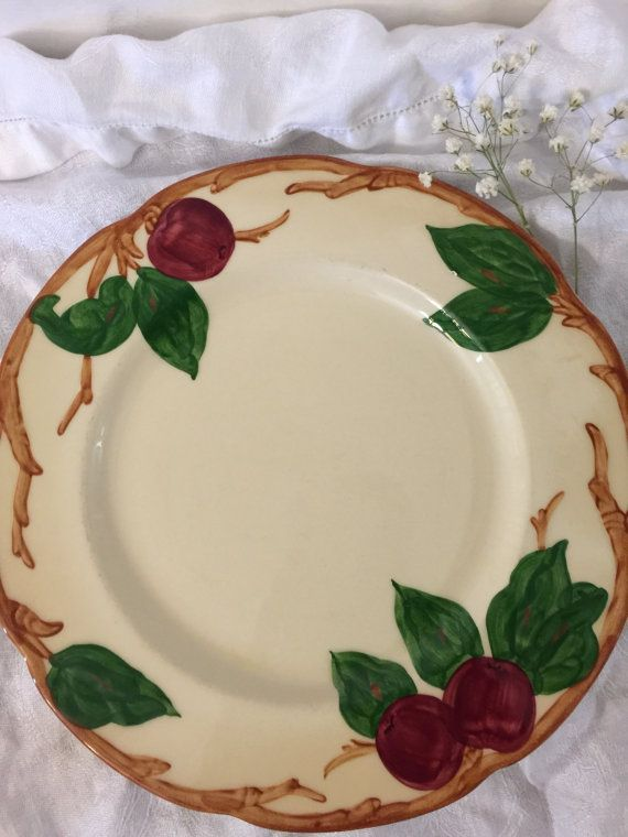 Franciscan Apple Luncheon Plates Set of 3 by PineStreetPickers & Franciscan Apple | Luncheon Plates | Set of 3 | California USA ...