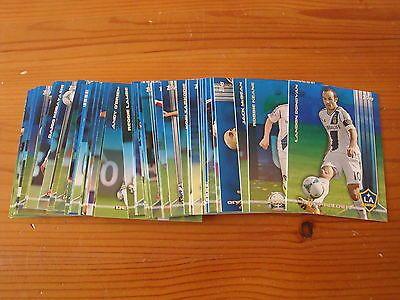 2013 Topps MLS Soccer BLUE PARALLEL lot of 48 different #/50 Donovan Keane