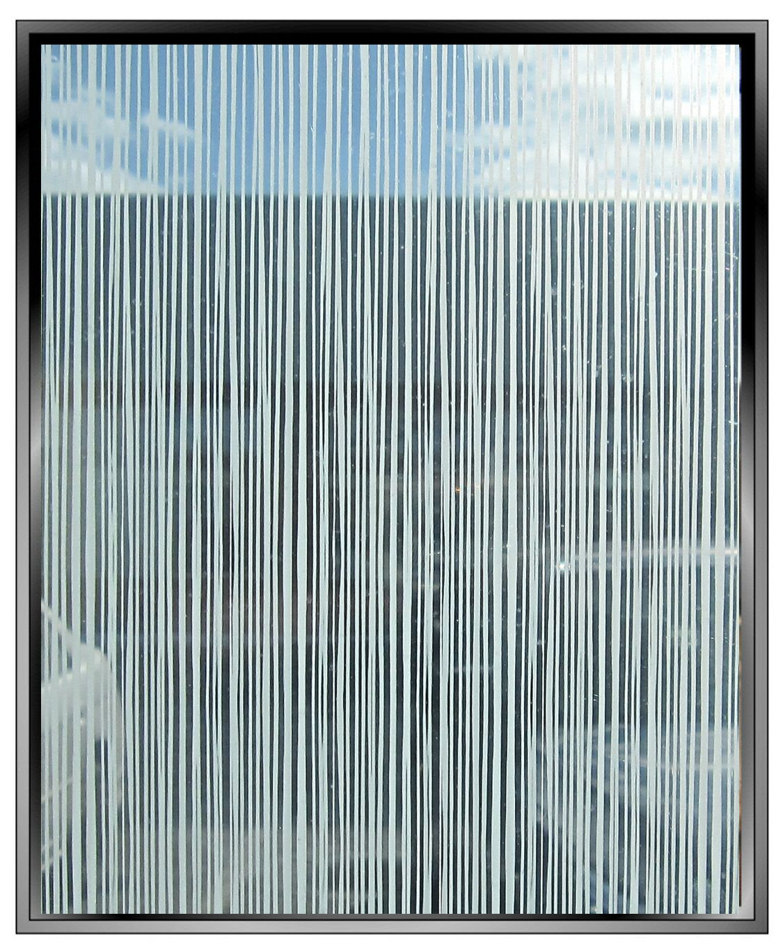 screen vertical lines pattern decorative window film ...