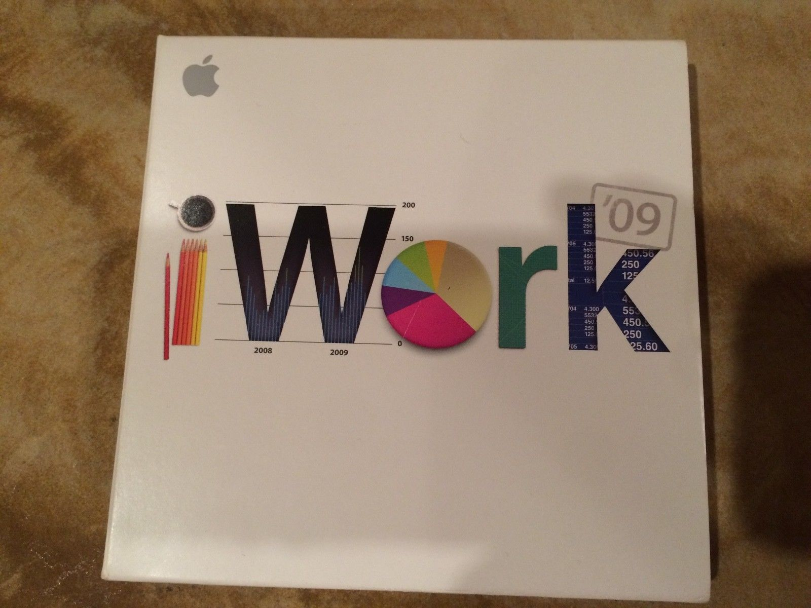 apple iwork 09 computer software installation disc and manual rh pinterest com iWork 09 Serial iWork 09 Serial
