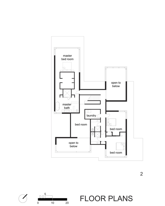 Gallery of Black White Residence David Jameson Architect 16