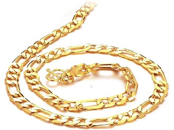 Mens Gold Necklaces Chains Make Up And Beauty