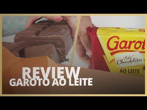 TESTEI O CHOCOLATE GAROTO AO LEITE, A PRIMEIRA MARCA QUE USEI! - REVIEW #003 - YouTube
