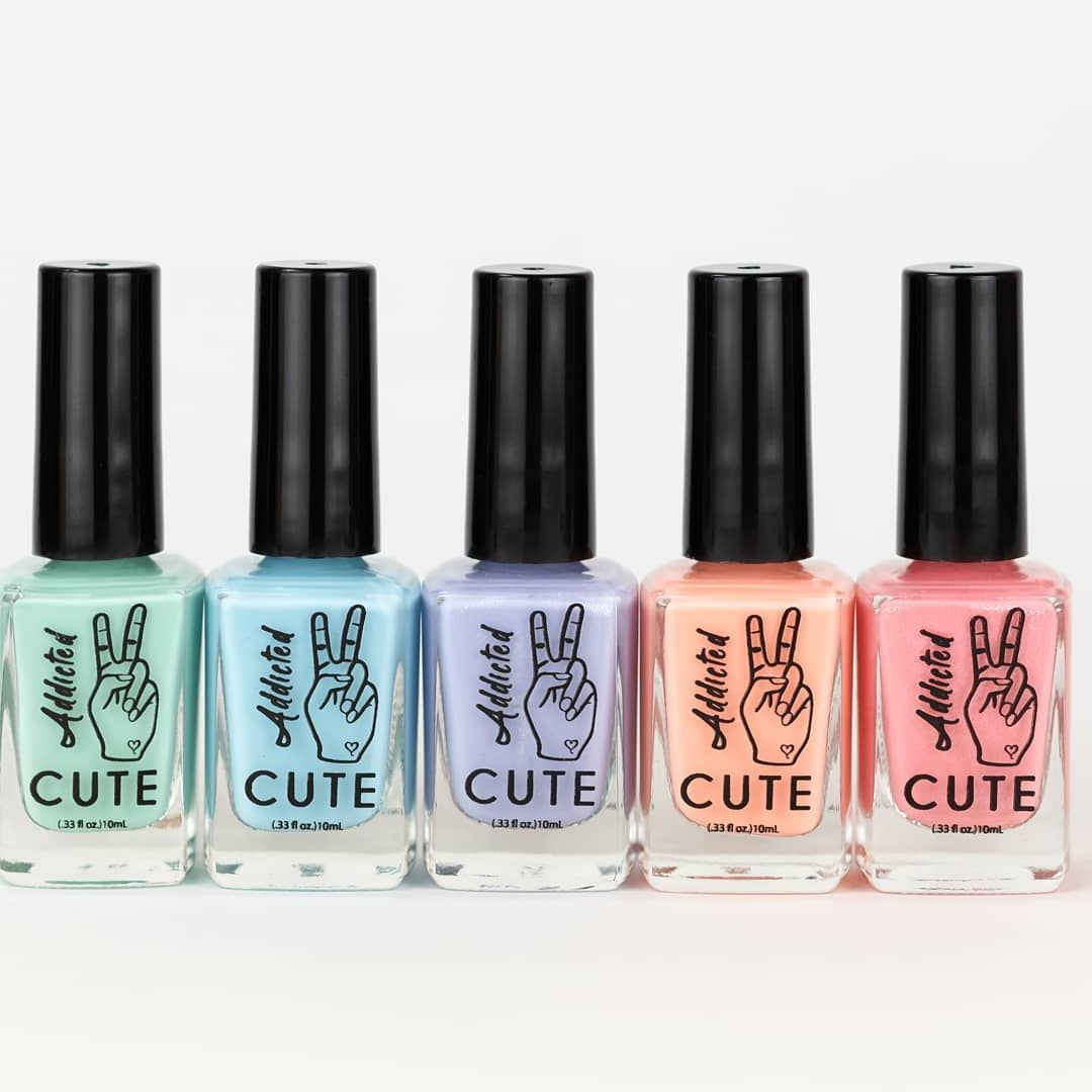 A List Of 25 Black Owned Independently Owned Nail Polish Brands Each Brand Is Vegan Non Toxi Christmas Nail Polish Nail Polish Brands Best Nail Polish Brands