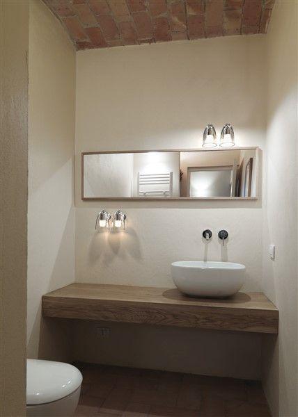 Wandlamp badkamer wit of grijs draaibaar 80° GU10 125mm Ø | Corian ...
