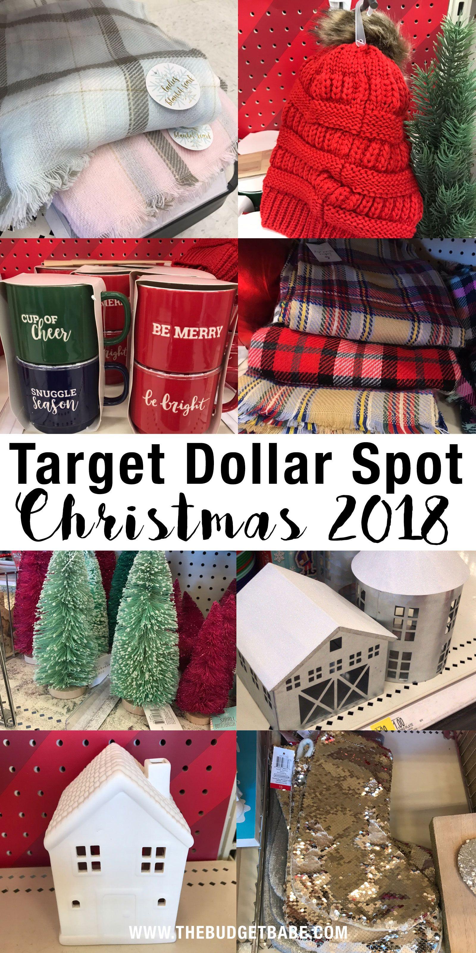 Christmas 2018 At The Target Dollar Spot See 40 Photos Target Christmas Target Dollar Spot Christmas