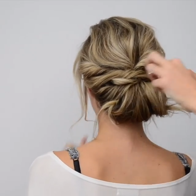 Hair Tutorial for Short Hair! #cabelo