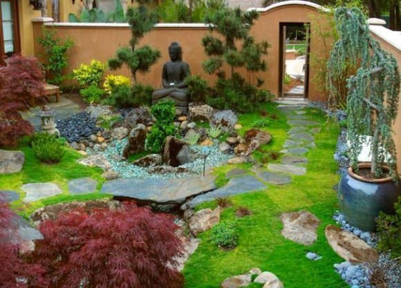 Jardin minimaliste - une tendance moderne | Jardin minimaliste ...