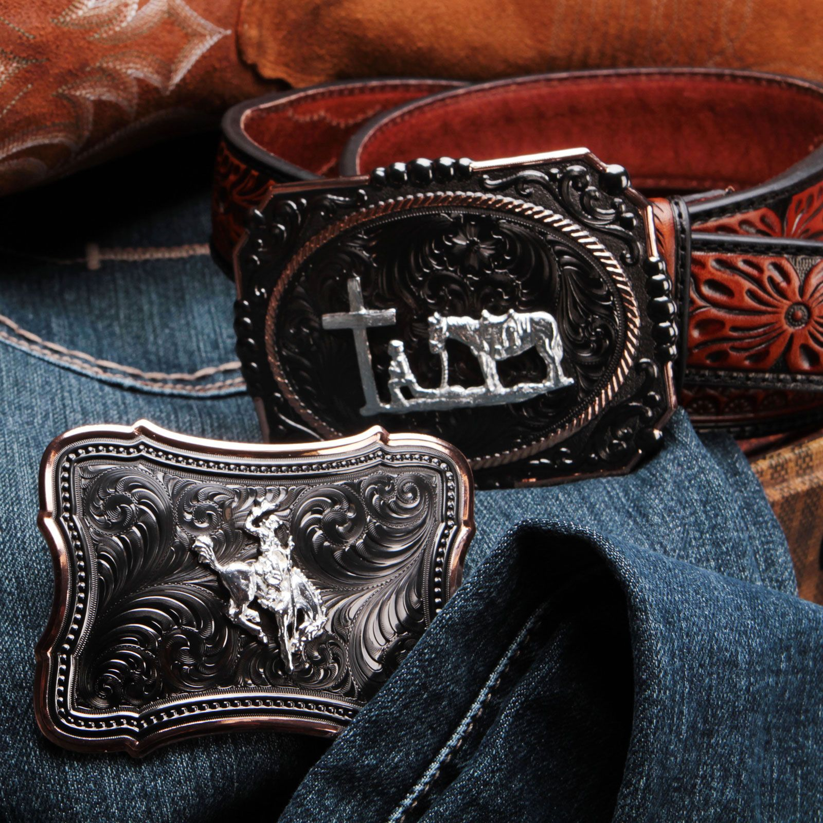 Alloy Western Cowboy Cowgirls Belt Buckle Fashion Clothing Jeans Accessory