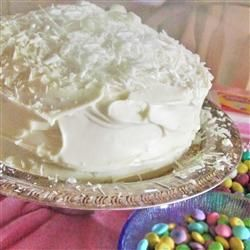 classic white wedding cake recipe tried this yeserday n used plain van ext, n just added all my other stuff to the meringue instead of following tedious steps n it came out fine, made a nice thick batter for a nice dense cake!