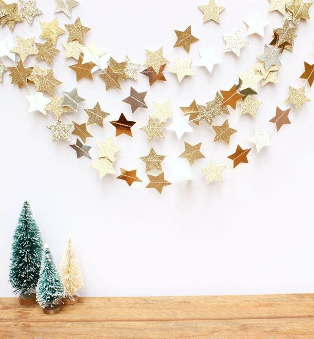 Photo of 38 Preiswerte DIY Weihnachtsgirlande Dekorationsideen