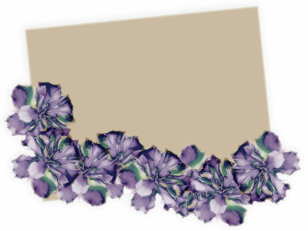Beautiful floral border powerpoint background available - Flower wallpaper border ...
