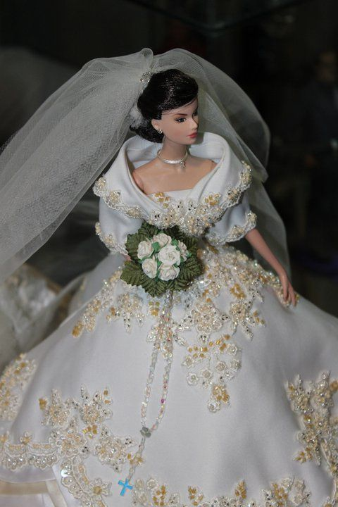 Philippine Maria Clara Bridal Gown | Wedding dresses for dolls ...